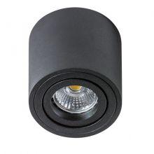 Bross Mini lampa sufitowa 1x50W GU10 230V czarna