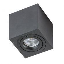 Eloy Mini lampa sufitowa 1x50W GU10 230V czarna