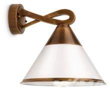 Fig wall lantern bronze 1x15W 230V E27 kinkiet zewnetrzny brazowy