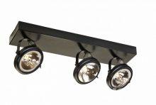 Visio listwa spot asymetryczna 3x50W G53 50cm ciemny brąz