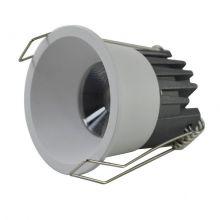 Kika lampa wpuszczana 3W LED 3000K 230V biała