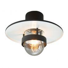 Bergen lampa sufitowa zewnętrzna 1x57W E27 230V czarna