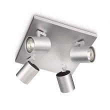 Runner reflektor 4x50W GU10 230V aluminium bez zrodel