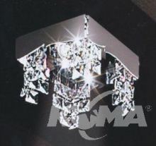 LYBRA oprawa na stropowa chrom 50W GU10