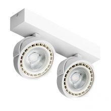 Jerry 2 reflektor 2x50W G53/QR111 12V biały