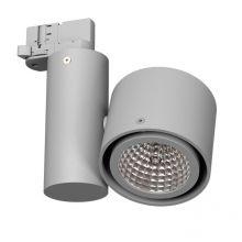 Kalmar reflektor na szynoprzewód 1x20W GU6,5 230V srebrny aluminiowy mat
