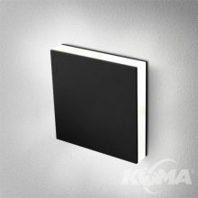 Ledpoint kinkiet czarny (mat) 1x4.5W LED 230V