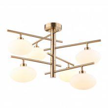 Fiorenzo lampa wisząca mosiądz 6x25W