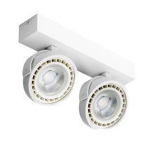 Jerry reflektor 2x16W LED ES111 230V biały