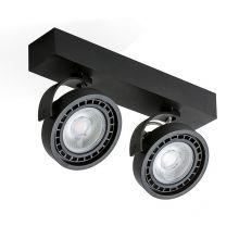 Jerry reflektor 2x16W LED ES111 230V czarny