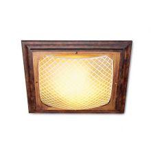 Martina plafon 1x150W R7s 230V brązowy/złoty