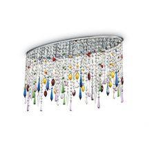 Rain Color lampa sufitowa 3x40W E14 230V wielokolorowa