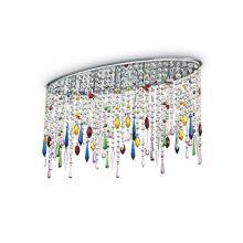 Rain Color lampa sufitowa 5x40W E14 230V wielokolorowa
