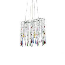 Rain Color lampa wisząca 3x40W E14 230V wielokolorowa