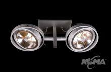 Optique D21 oprawa stropowa G53 2x50W C01 - aluminium 12V