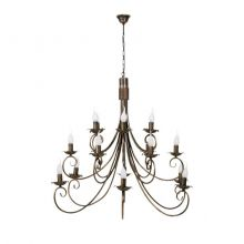 Płomyk XVIII lampa wisząca - żyrandol 18x60W E14 230V