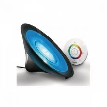 LIC Aura black lampka led 1x8W czarna