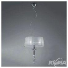 Tiffany lampa wisząca 3x13W E27 + 1x33w G9