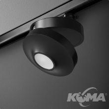 Aqled reflektor na szynoprzewód czarny (mat) 1x8,7W LED 230V