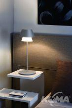 Gala lampka stolowa e14/60W szara