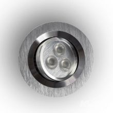 Pio lampa wpuszczana 3x1W LED 230V aluminium