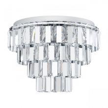 Erseka oprawa sufitowa chrom / kryształ 7x40W E14