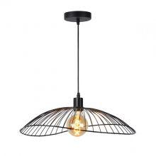 Jing lampa wisząca 1x40W E27 230V czarna