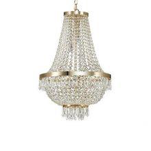 Caesar lampa wisząca 9x40W G9 230V złota