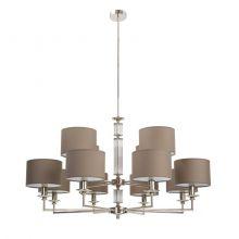 Artu lampa wisząca nikiel 12x60W e14 230V