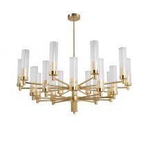 Seti żyrandol lampa wisząca 20x60W E14 230V złoto