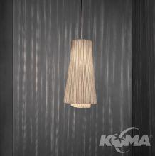 Tempo lampa wisząca 1x12W E27 230V biała