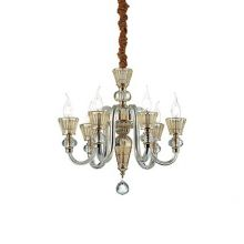 Strauss lampa wisząca 6x40W E14 230V złota