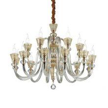 Strauss lampa wisząca 18x40W E14 230V złota