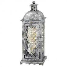 Winsham lampa stojąca stołowa 1x60W E27 kolor: antyczne srebro