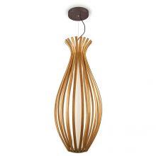 Bamboo lampa wisząca led 22W WOOD