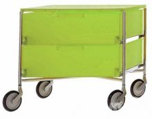 Mobil szafka na kolkach 2sz 49x47.5x48cm cytrynowy