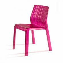 Frilly krzeslo 47x47x78cm fuksja