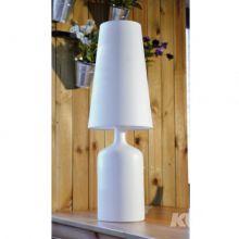 Wiktoria I lampa stołowa 1x60W E27 230V biała