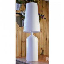 Wiktoria II lampa stołowa 1x60W E27 230V biała