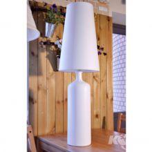 Wiktoria III lampa stołowa 1x60W E27 230V biała