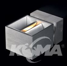 Flexi kinkiet 1x40W G9 230V aluminium