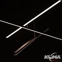 TRIO lampa wisząca 3x12W LED 220lm 3000K