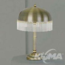 Lampa stołowa 2xe14 40W patyna