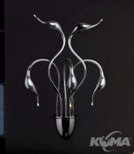 Swan kinkiet 5xg4 20W chrom