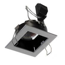 Mini oprawa wpuszczana 1x50W GU10 230V szaro/czarna