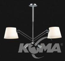 PESSO BIANCO Lampa wisząca 2x60W E27 230V