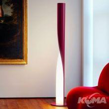 Evita lampa podlogowa 2xt5/54W czerwona