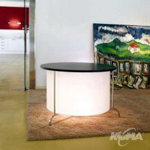 Peana 02 lampa stol 1x100W E27 chrome wenge