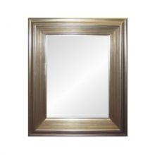 Leoni lustro 75x100cm z ramą 122x147cm srebrne