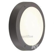 Dragon lampa zewnętrzna ścienna/sufitowa 2x24W E27 230V antracyt